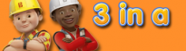 Bob the Builder 3 in a row!